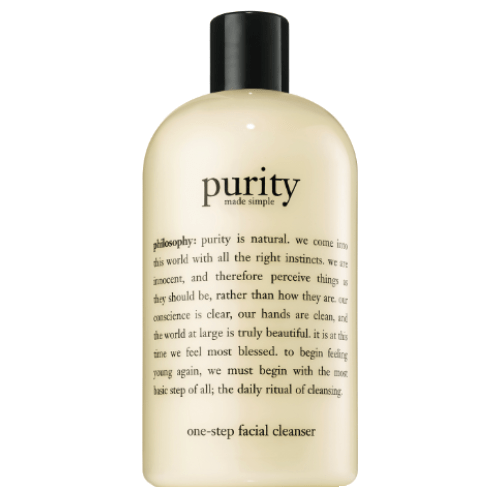 philosophy purity made simple 3-in-1 cleanser for face and eyes 480ml by philosophy