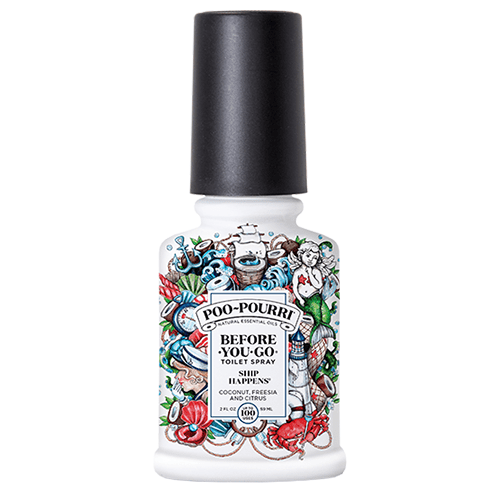 Poo Pourri Ship Happens Toilet Spray by Poo Pourri